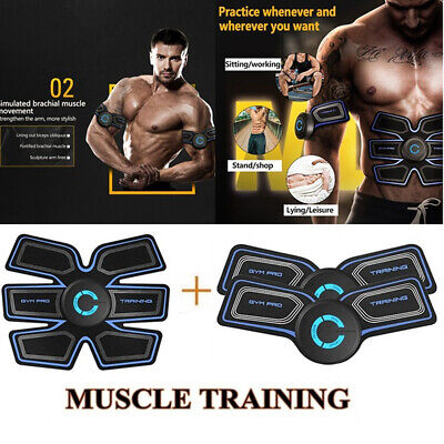 Smart EMS Hip Trainer Electric Muscle Stimulator Wireless Buttocks Abdominal ABS