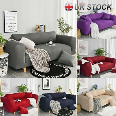 Elastic Fabric Sofa Cover Sectional/Corner Couch Covers For Home Decor 1-4 Seats
