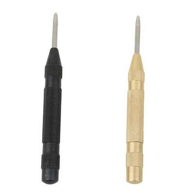 Automatic Center Pin Punch Strike Spring Loaded Marking Starting Holes Tool HY