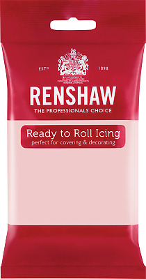 Baby Pink Renshaw Ready To Roll Icing 250g Packets