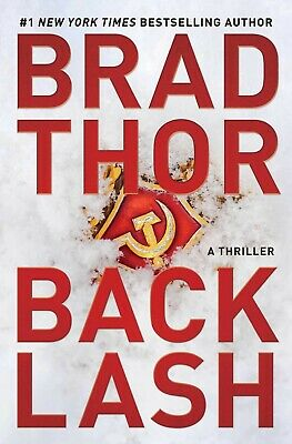 Backlash A Thriller The Scot Harvath Series by Brad Thor Hardcover NEW 25JUNE19