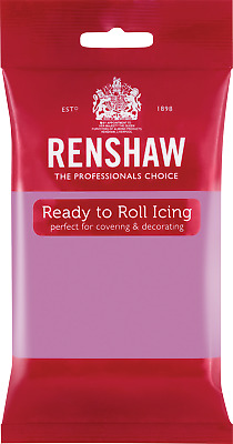 Dusky Lavender Renshaw Ready To Roll Icing 250g Packets