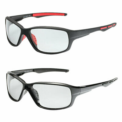 Mens Color-Changing Lenses Photochromic Polarized Sunglasses Fishing Cycling AU