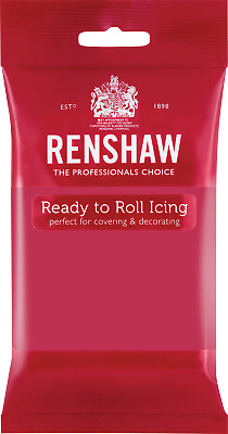 Fuchsia Pink Renshaw Ready To Roll Icing 250g Packets