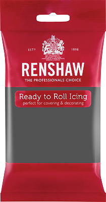 Grey Renshaw Ready To Roll Icing 250g Packets