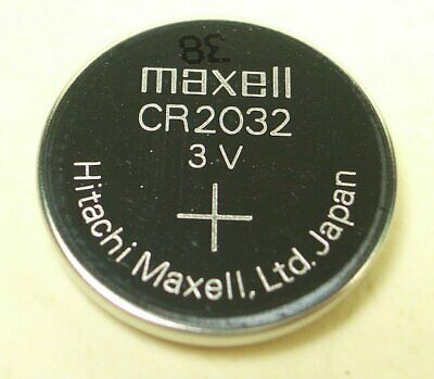 Maxell CR2032 Lithium Coin Cell Button 3V Battery Batteries Melbourne Stock