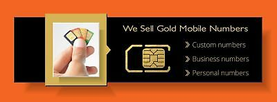 New Vodafone Gold Mobile Sim Number  	 0499936664