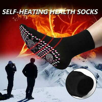 Magnetic Socks Self Heating Therapy Warm Tourmaline Socks Pain Relief Unise N1T2