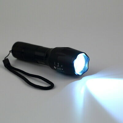 1000LM XML-T6 LED Zoomable Flashlight+18650 Battery+Charger OZ