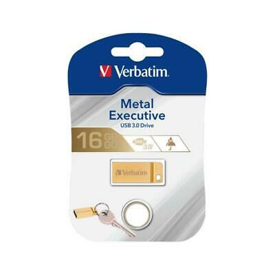 Verbatim Verbatim Metal Executive    16GB USB 3.0 gold (158265) NEU OVP