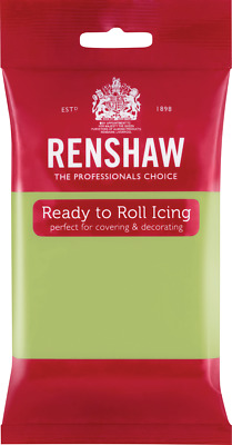 Pastel Green Renshaw Ready To Roll Icing 250g Packets