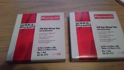 PLYMOUTH 17 PLYSHIELD EPR Electrical Shielding Tape, NEW IN