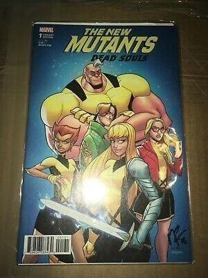 The New Mutants: Dead Souls #1 Variant Edition Signed By Matthew Rosenberg NM