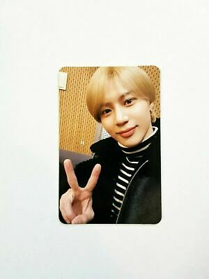 """K-POP SHINee TAEMIN CONCERT """"T1001101"""" OFFICIAL LIMITED FORTUNE PHOTOCARD"""