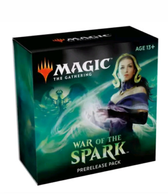 Magic the Gathering War of the Spark Prerelease Pack Kit box english sealed new