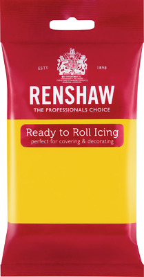 Yellow Renshaw Ready To Roll Icing 250g Packets