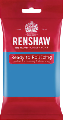 Turquoise Ready To Roll Icing 250g Packets
