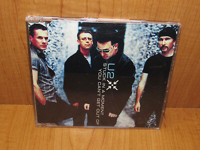 U2 - Stuck In A Moment You Can't Get Out Of UK Import CD Single 3-Trk