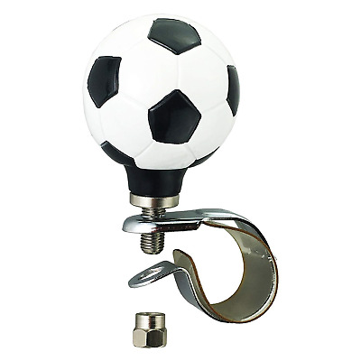 Arenbel Car Steering Wheel Spinner Round White Ball Rotating Suicide Knob Spinners Mounted on Outside Rim of Steering Wheel