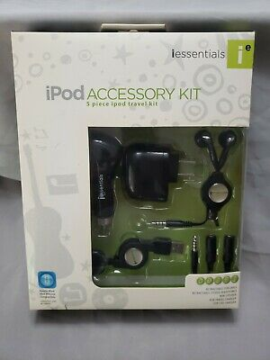 Iessentials Ipod Accessory Kit 5 Piece Ipod Travel Kit