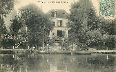 VILLENNES bords de la seine