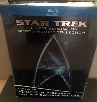 Star Trek: The Next Generation Motion Picture Collection (DVD, 5-Disc Set)