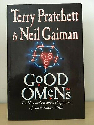Good Omens Terry Pratchett Neil Gaiman 1990 Hardback Book Guild 1st Edition