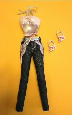 Barbie Doll Outfit : Fashion Fever Teresa : Muse Jeans Top Heels Shoes