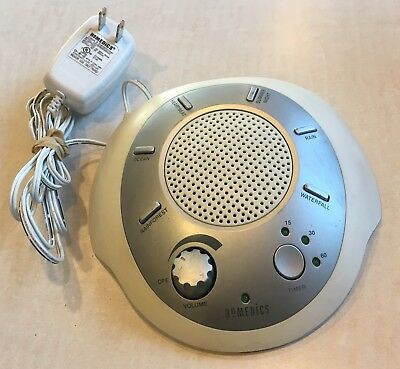 HoMedics SS-2000 Sleep Aid Sound Therapy Peace Machine 6 Nature Sounds