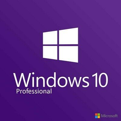Microsoft Windows  10 Pro Professional  32/64bit  Genuine License Key UPGRADE