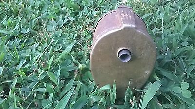 Vintage Boston Home School Pencil Sharpener Metal Model L Desk Wall Mount Crank