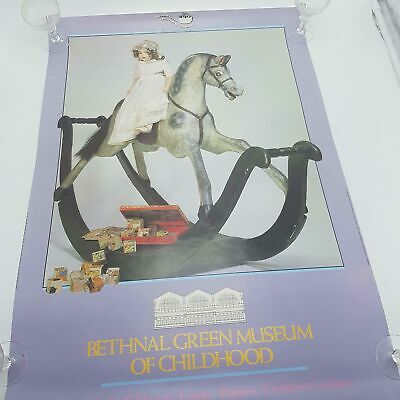 "Vintage 1980's Bethnal Green Museum of Childhood Poster 30""x20"" VGC"