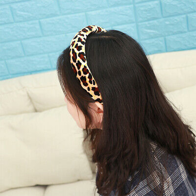 Women Girls Sponge  Hairbands Velvet Hair Hoop Head Wrap Hair Accessories