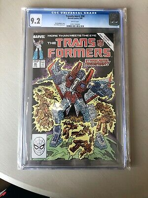 transformers Comic Cgc Issue 50 Spiderman Marvel