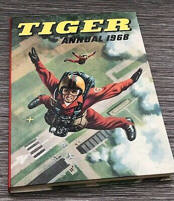 Tiger Annual 1968 Boys Annual - Excellent Condition