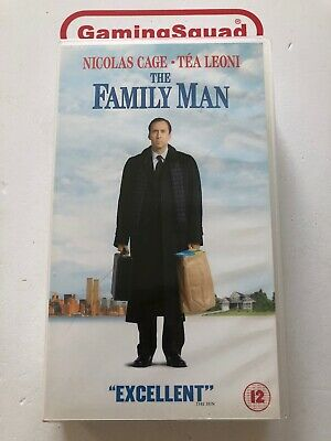 The Family Man VHS Video Retro, Supplied by Gaming Squad