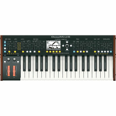 Behringer Deepmind 6 Analog 6 Voice Polyphonic Synthesizer Synth