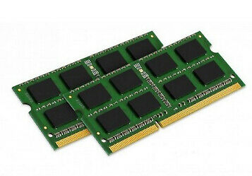 Kingston ValueRAM 8GB (2 x 4GB) 1600 MHz DDR3L 1.35v CL11 RAM (KVR16LS11K2/8)