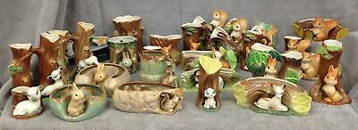 Joblot-Hornsea Fauna Wild Life Creatures & Farm Animals Squirrels Rabbits Lambs+
