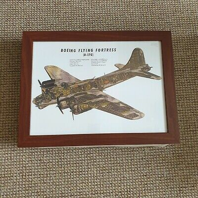 Padded Laptray Lap Tray Dinner Dining Aid - Boeing Flying Fortress (B-17G)