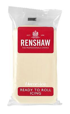White Chocolate Renshaw Ready To Roll Icing 250g Packets