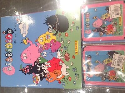 ALBUM BARBAPAPA 210 stickers sous blister Image booster collection