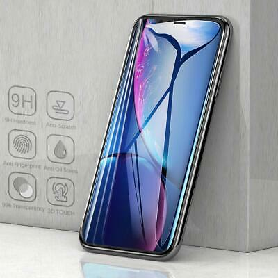 3D Full Coverage Curved Tempered Glass Screen Protector For iPhone X Xs Max XR
