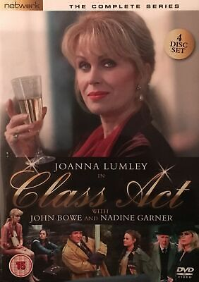 Class Act: The Complete Series (1994-95)  - Joanna Lumley- 2010 4 DVD Set - NEW.