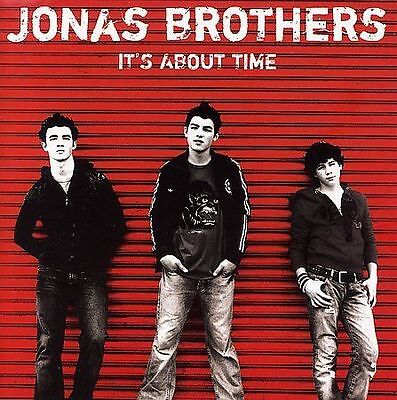 Jonas Brothers It's About Time Rare New CD