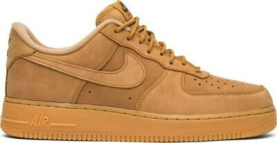 Nike Air Force 1 07 WB Flax Wheat Brown Mens Shoes Sneakers size 10.5