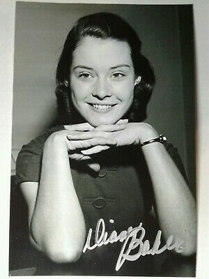 DIANE BAKER Authentic Hand Autograph Signed 4X6 Photo - BEAUTIFUL ACTRESS
