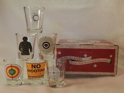 Shot Glasses Knock A Few Off or Knock A Few Back New In Box
