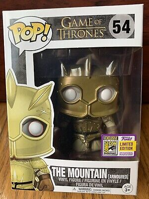 Funko Pop! Game Of Thrones The Mountain #54 2017 SDCC Official Sticker