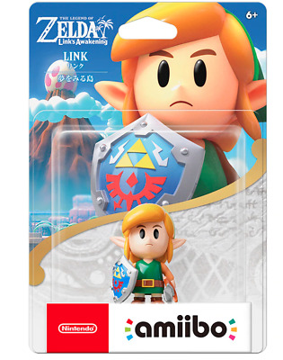 Nintendo Amiibo Link The Legend of Zelda figure Link's Awakening Dreaming island